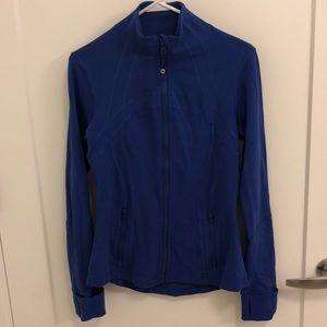 Blue lululemon zip up